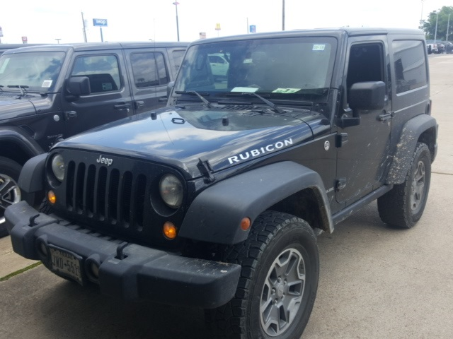 2014 Jeep Wrangler Rubicon >> Pre Owned 2014 Jeep Wrangler Rubicon 2d Sport Utility In Ennis